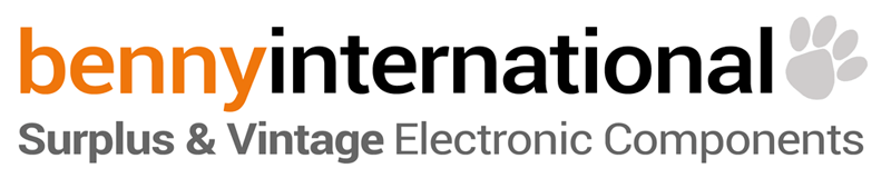 VISIT BennyInternational.com Surplus & Vintage Electronic Components Store